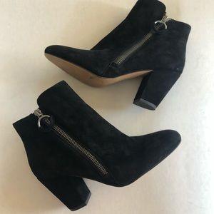 1. State Black Heel Booties Size 6.5